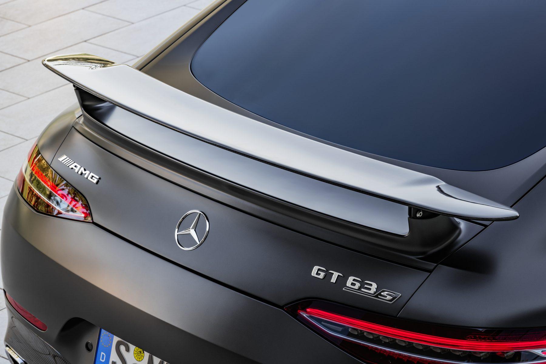 Mercedes-AMG GT 63 S 4MATIC+ 4-Türer CoupéMercedes-AMG GT 63 S 4MATIC+ 4-Door Coupé