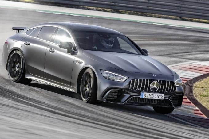 Mercedes-AMG GT 63 S 4MATIC+ 4-Türer CoupéMercedes-AMG GT 63 S 4MATIC+ 4-Door Coupé