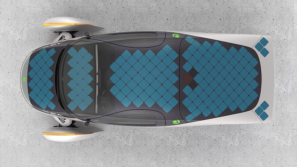 Os 180 painéis somam quase 3 m² de placas fotovoltaicas