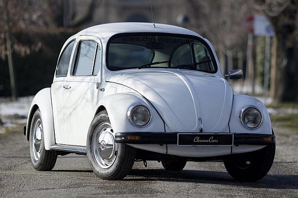 VW Fusca blindado
