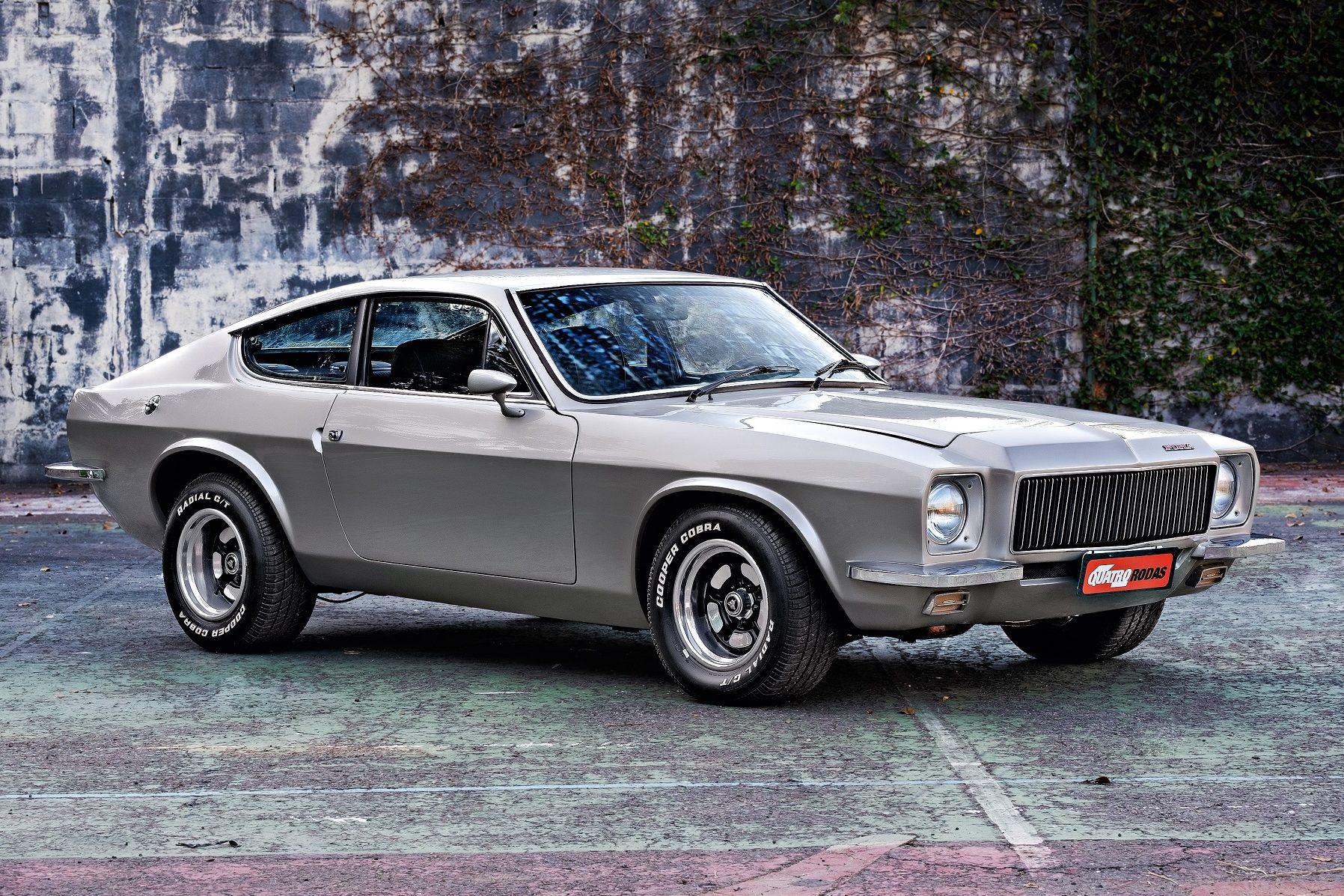 O estilo lembrava os Aston Martin DBS de 1967