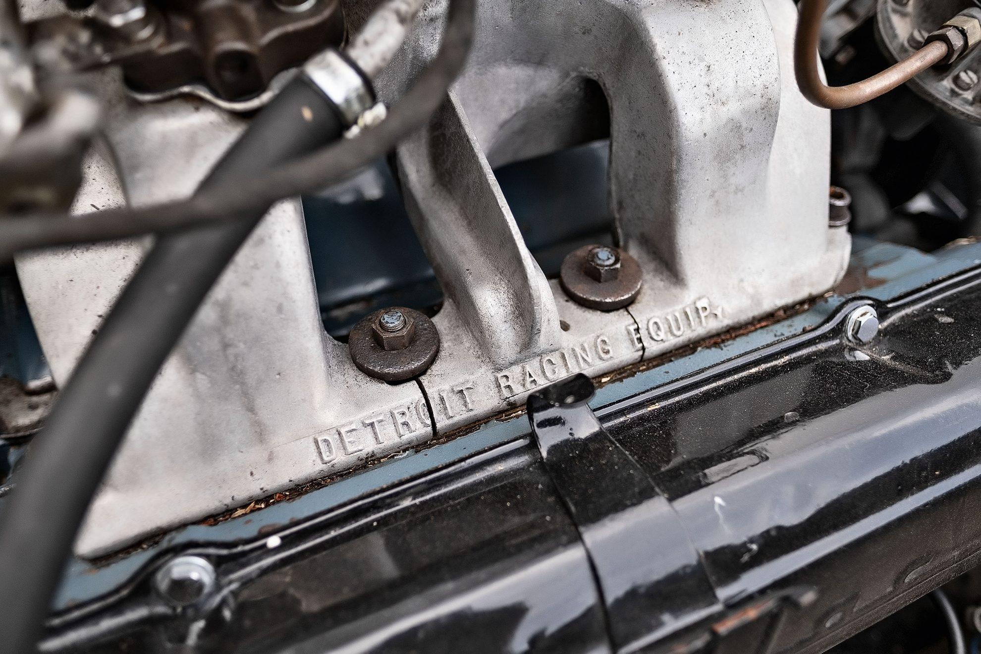 V8 Cadillac preparado e instalado pela Detroit Racing Equipment