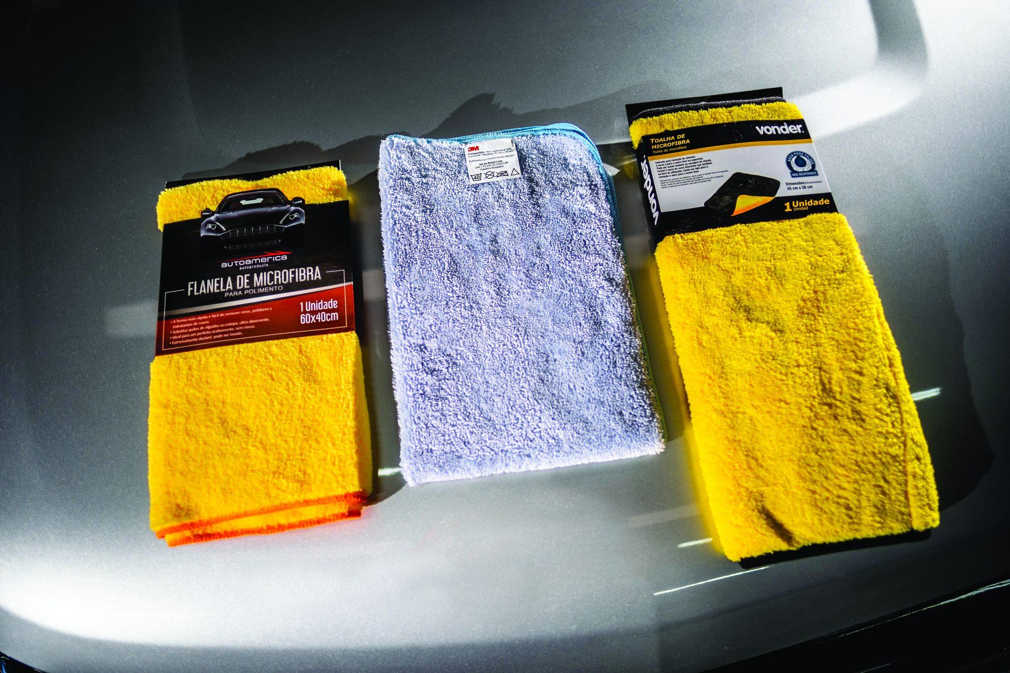 toalhas de microfibra teste do especialista