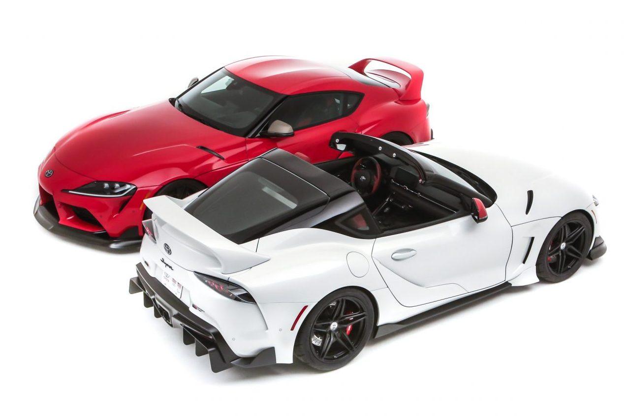 A Toyota fez o Sport Heritage para a edição 2019 do SEMA. O modelo fez sucesso mas perceberam que poderiam melhorar removendo seu teto e criando um targa. Dessa bela história nasceu o Sport Top