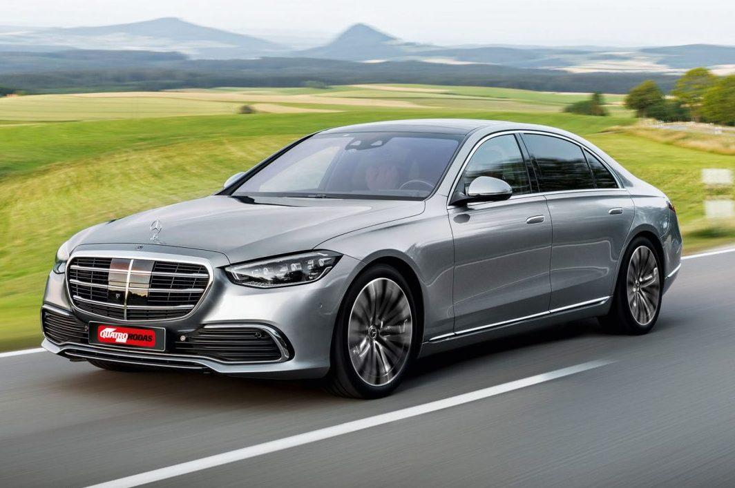 Mercedes-Benz S-Klasse, 2020, Outdoor, Fahraufnahme, Exterieur: Hightechsilber // Mercedes-Benz S-Class, 2020, outdoor, driving shot, exterior: hightech silver
