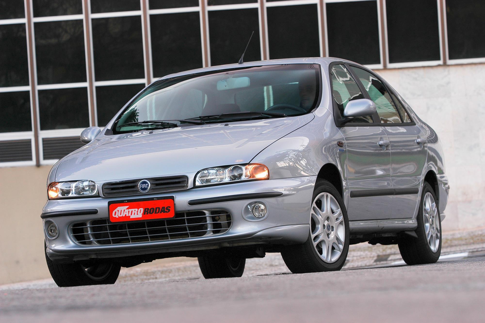 Marea SX 1.6 16V, modelo 2006 da Fiat, testado pela revista Quatro Rodas.