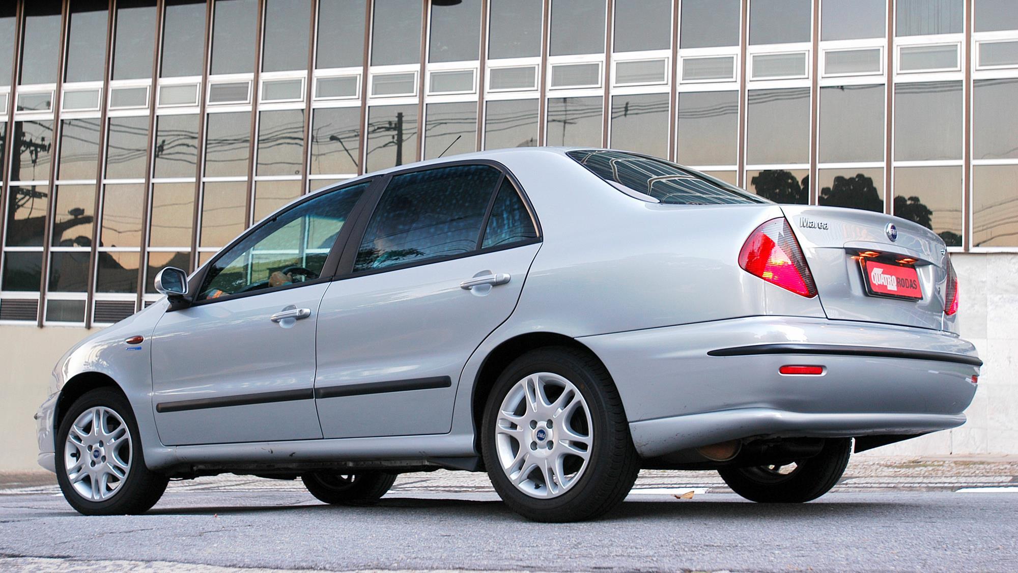 Marea SX 1.6 16V, modelo 2006 da Fiat, testado pela revista Quatro Rodas._1