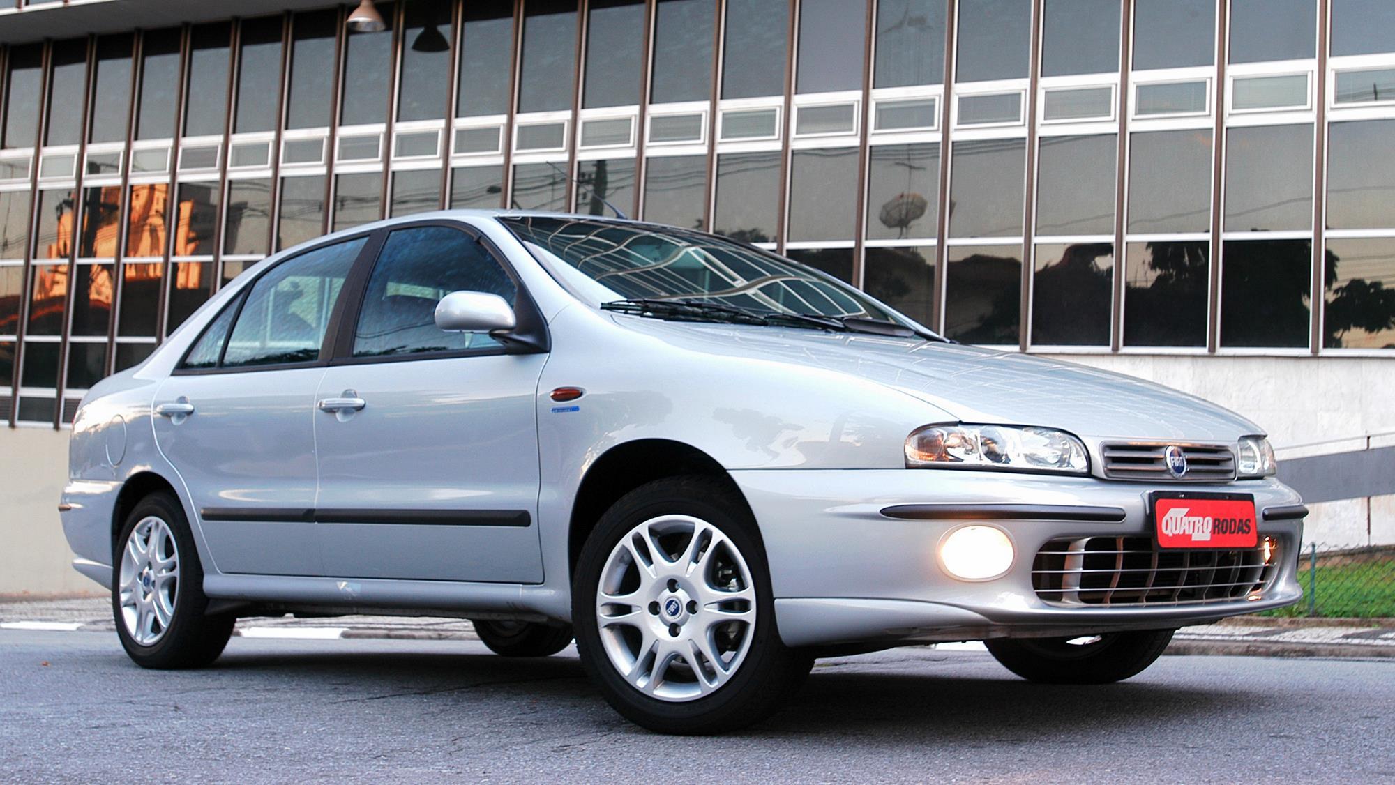 Marea SX 1.6 16V, modelo 2006 da Fiat, testado pela revista Quatro Rodas._3