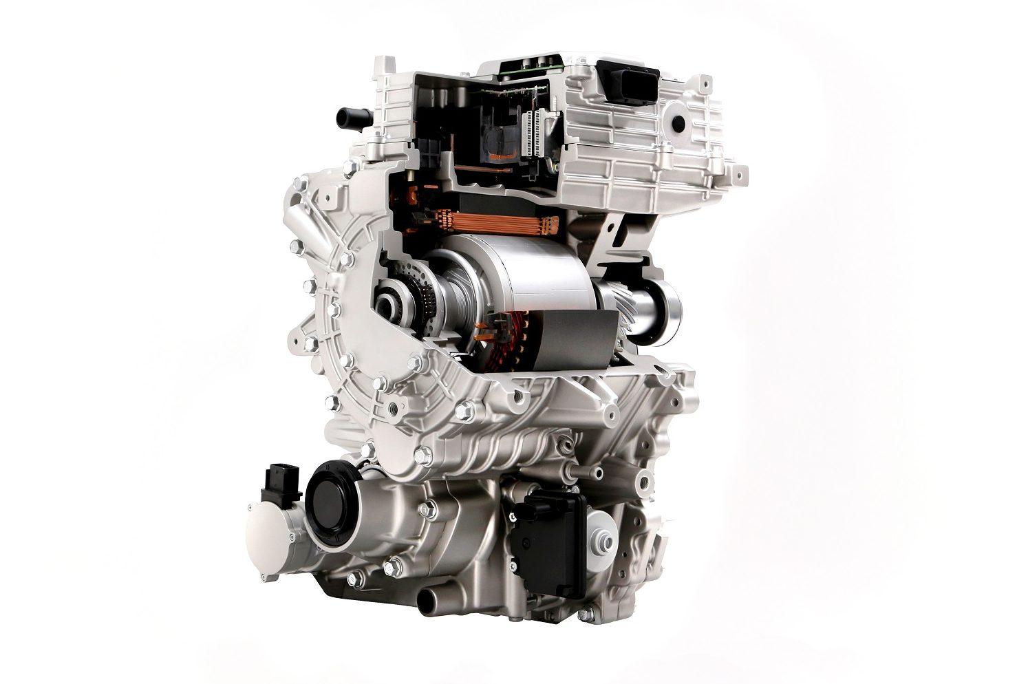 O motor dianteiro da E-GMP é opcional, e se junta ao traseiro, de série, para fornecer tração nas quatro rodas