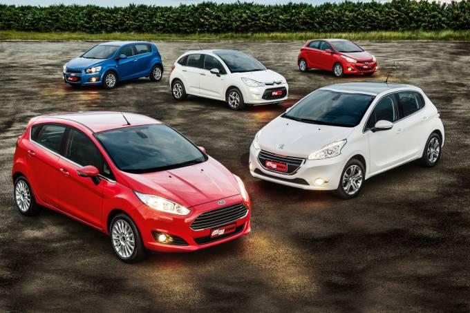 New Fiesta Titanium da Ford, Sonic LTZ da Chevrolet, C3 Exclusive da Citröen, 20