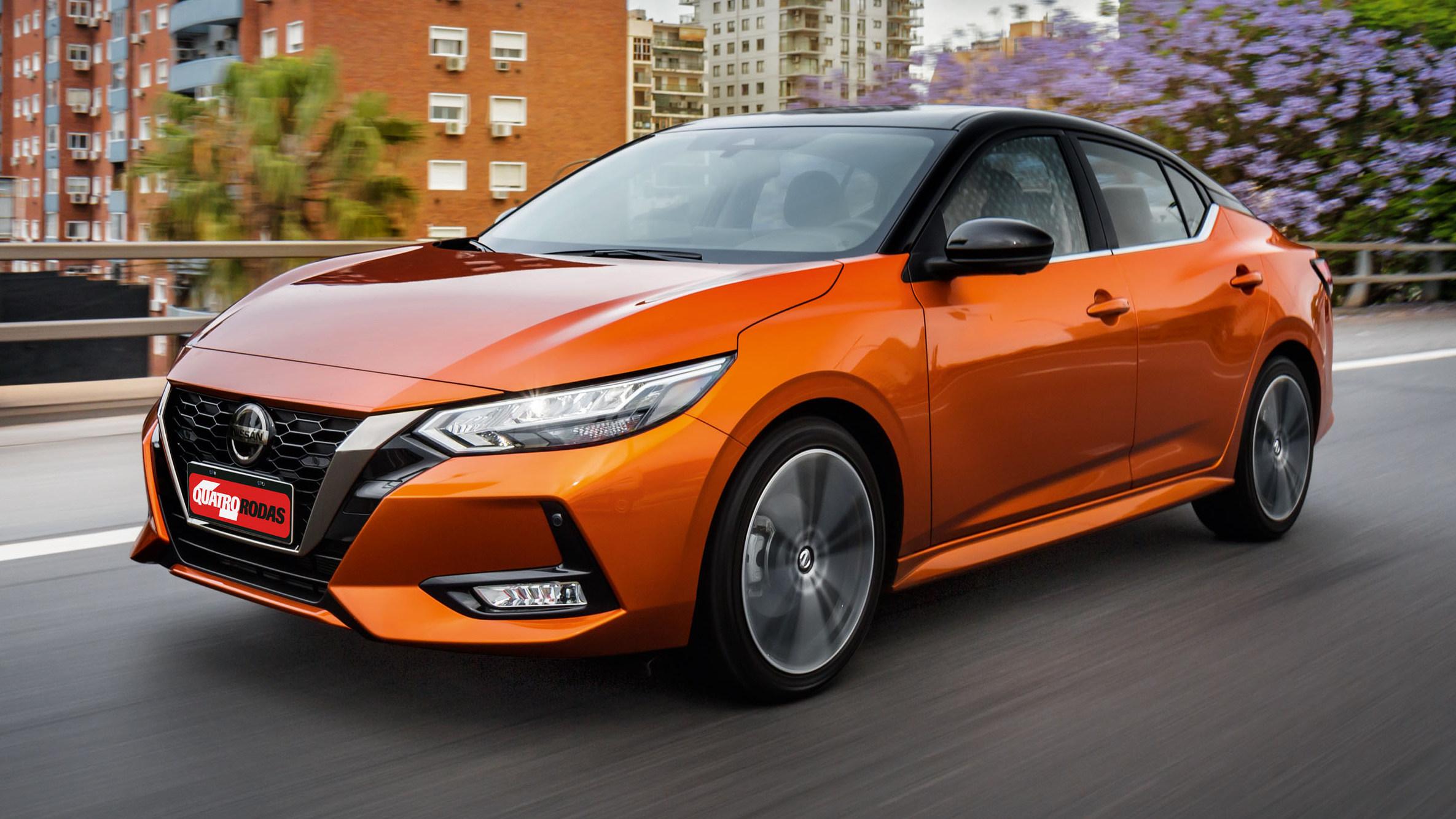 Nissan Sentra 2021 nova geração