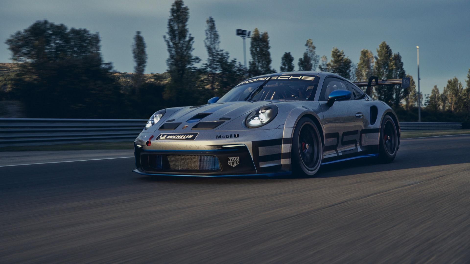 O novo Porsche 911 GT3 Cup aproveita a plataforma do 911 Turbo, mas não trás turbocompressor