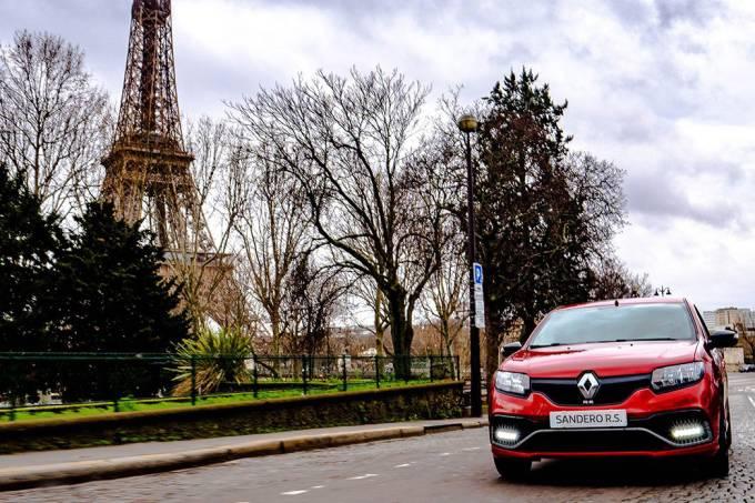 Renault Sandero RS em Paris, França (1)