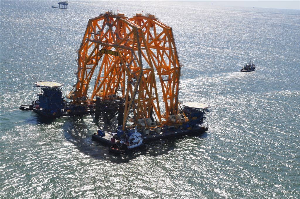 O absurdo VB-1000 consegue içar 6,8 milhões de quilos e tem altura equivalente a um prédio de 23 andares