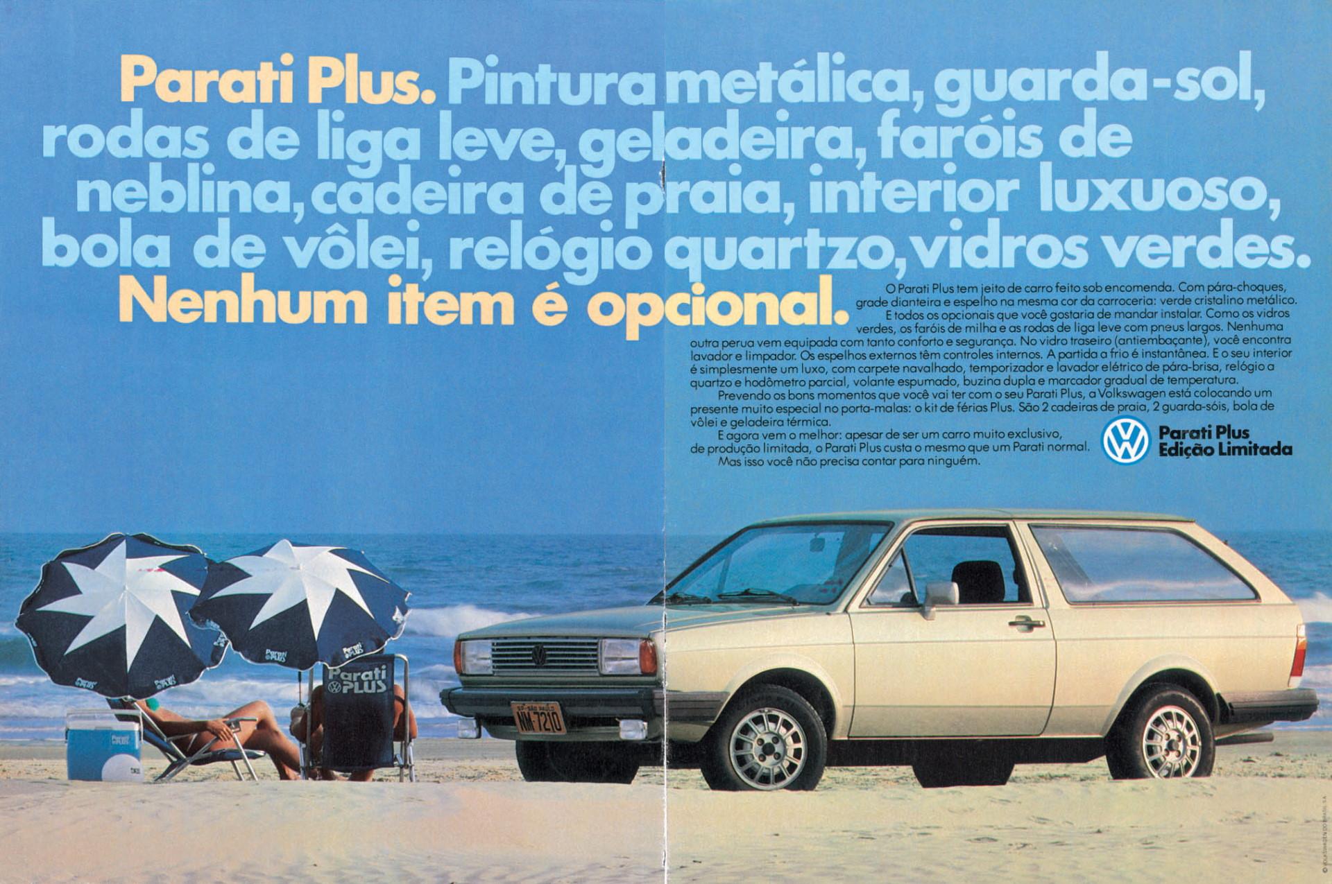 VW Parati Plus