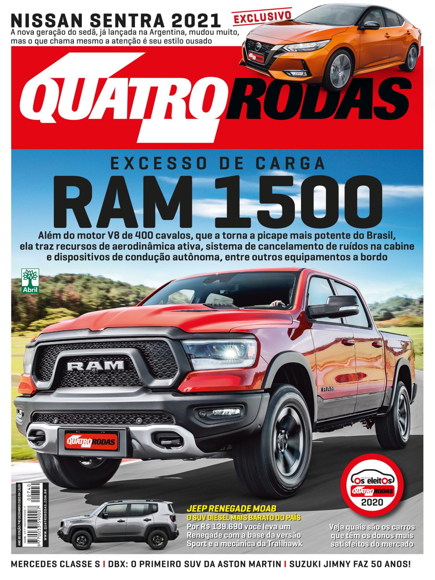 Capa Quatro Rodas 740