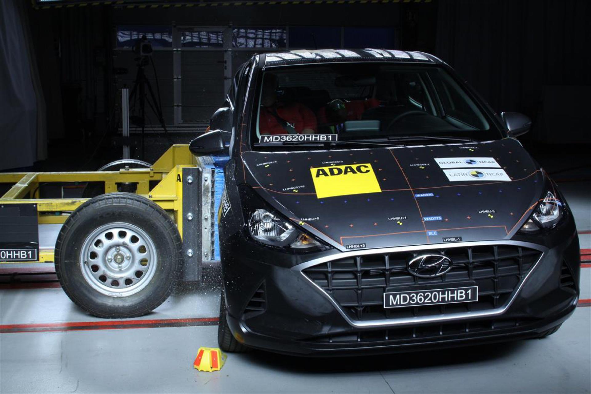 Crash Test Hyundai HB20