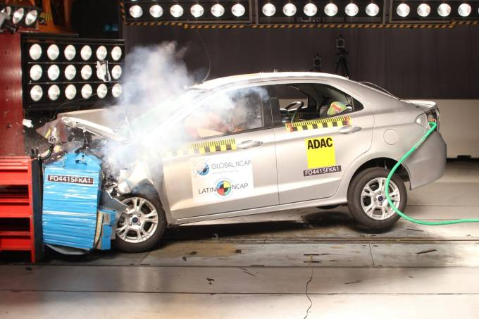 Crash Test Ford Ka