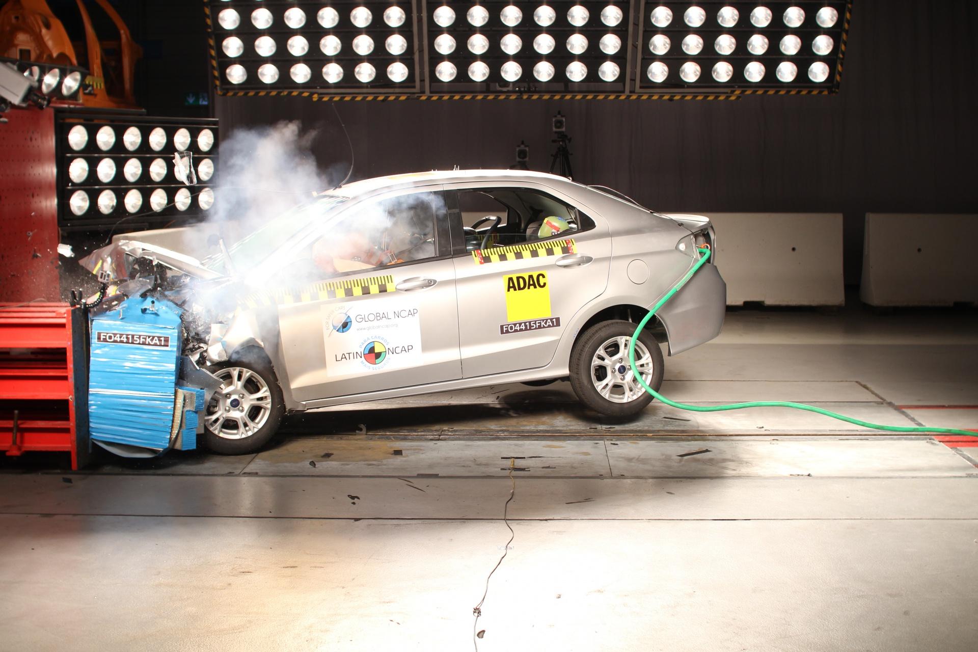 Crash Test Ford Ka