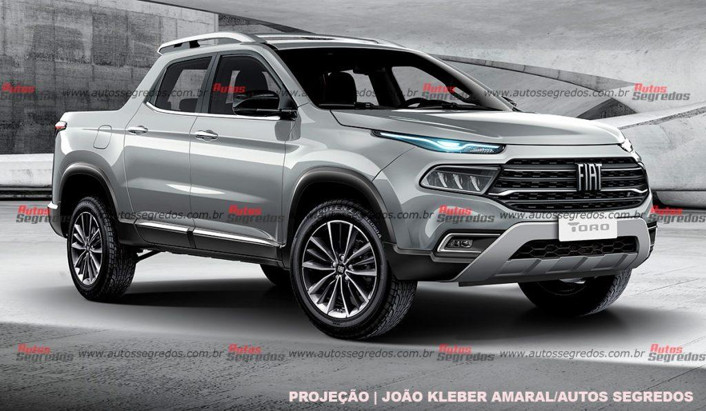 Projeção Fiat Toro 2022
