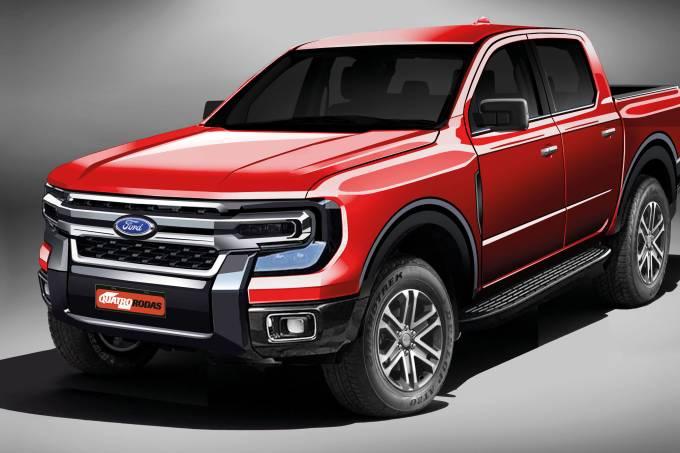 Ford Ranger projeção