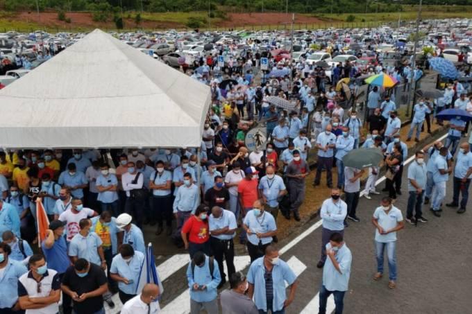 Sindicato dos trabalhadores Ford em Camaçari
