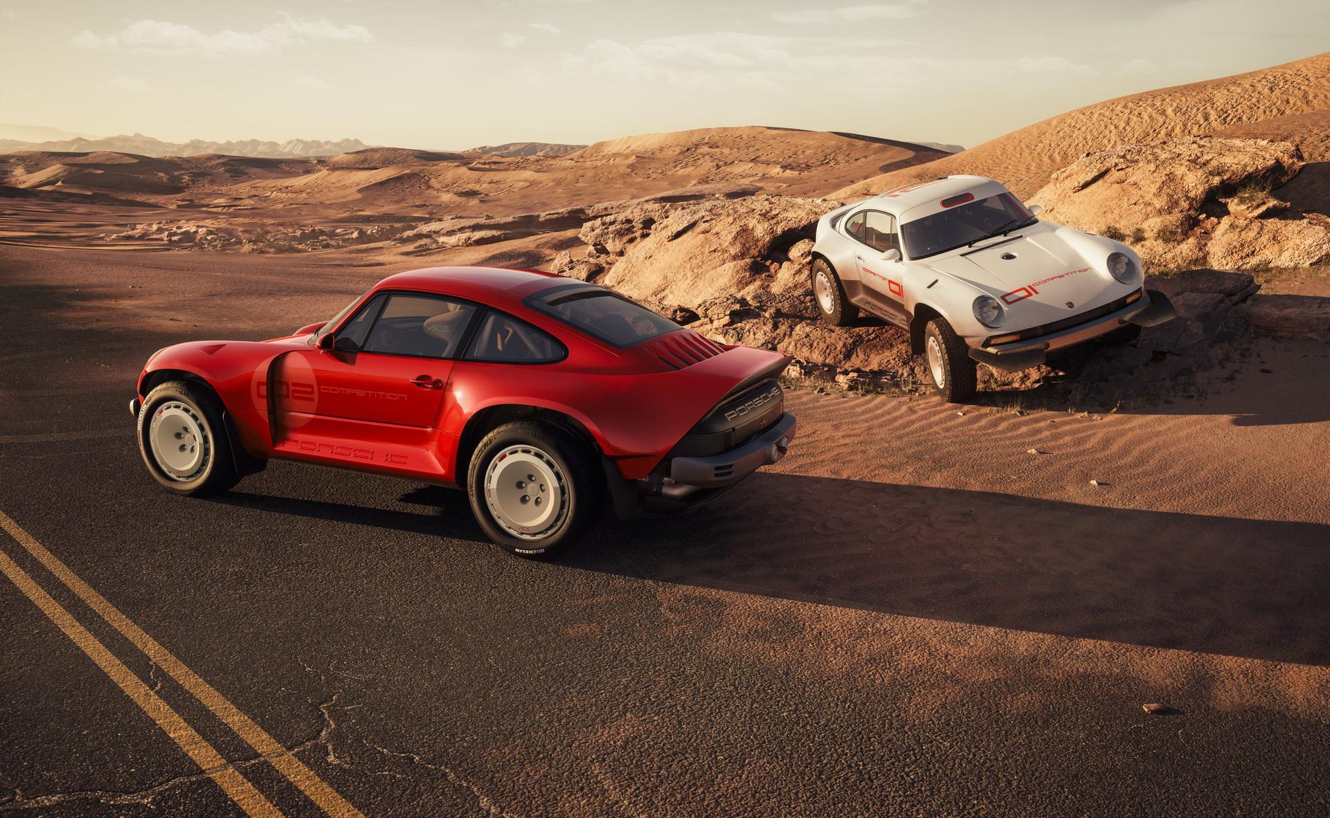 Singer Cria Dois Porsche 911 De Rali Que Sao Verdadeiras Obras De Arte Quatro Rodas