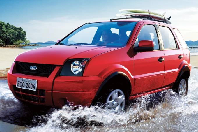 EcoSport, utilitário esportivo da Ford.