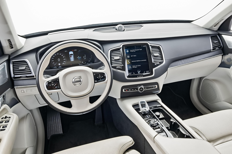 painel do Volvo XC90