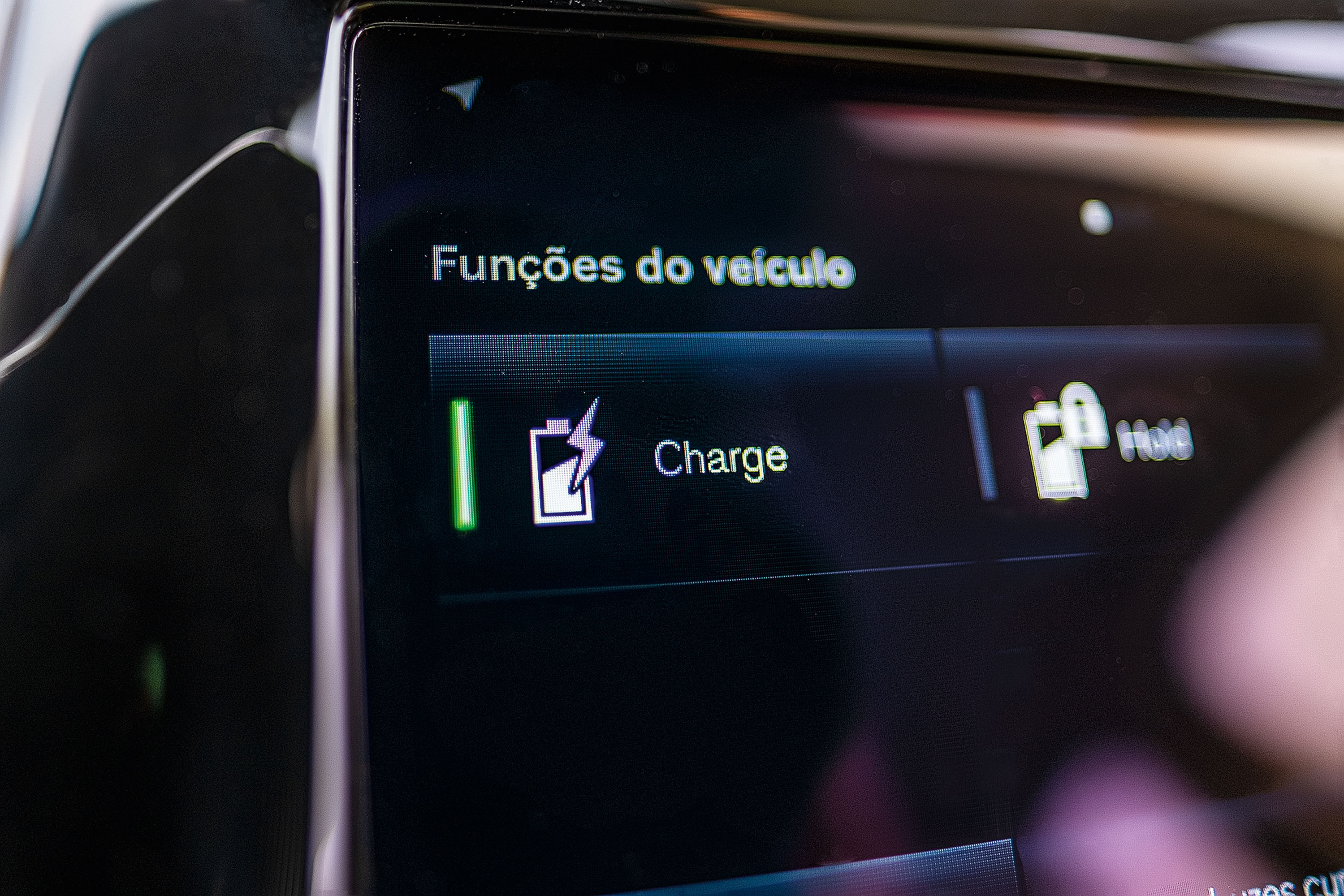 modo charge do Volvo XC90