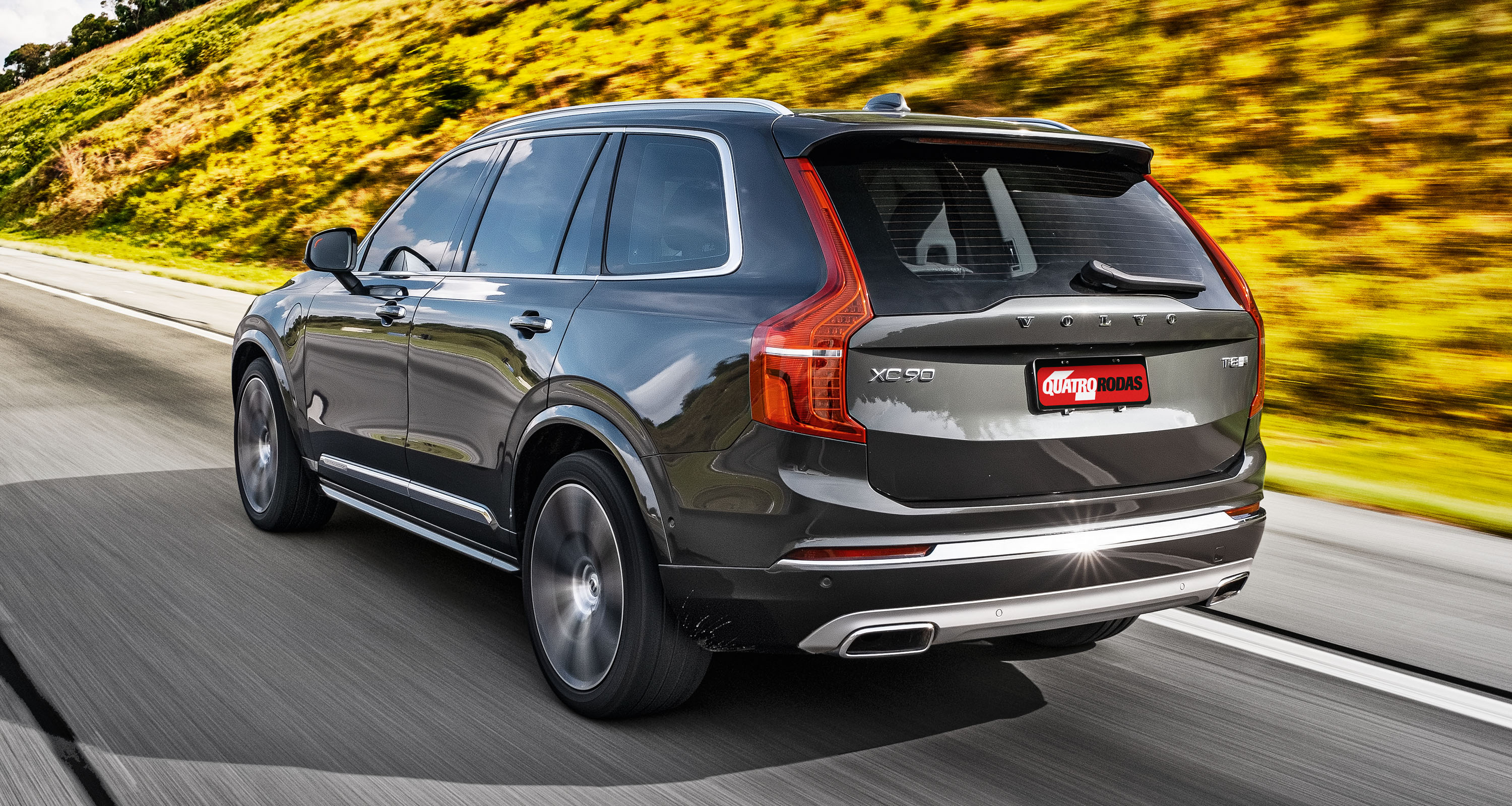 traseira do Volvo XC90