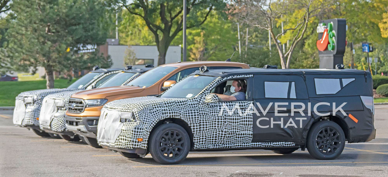 Ford Maverick picape flagra