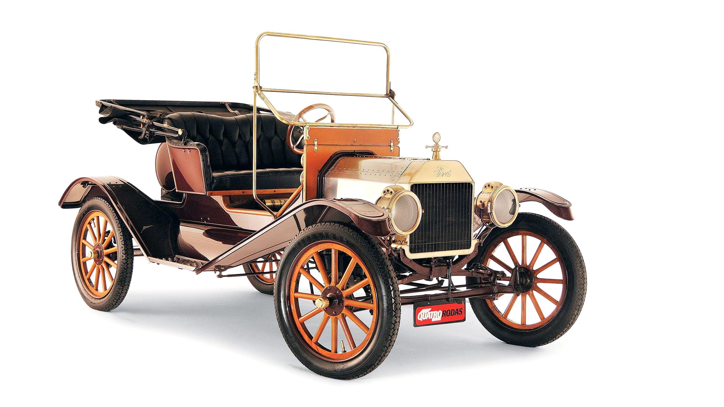 Ford T modelo 1911, automóvel testado pela revista Quatro Rodas (7) - Cópia