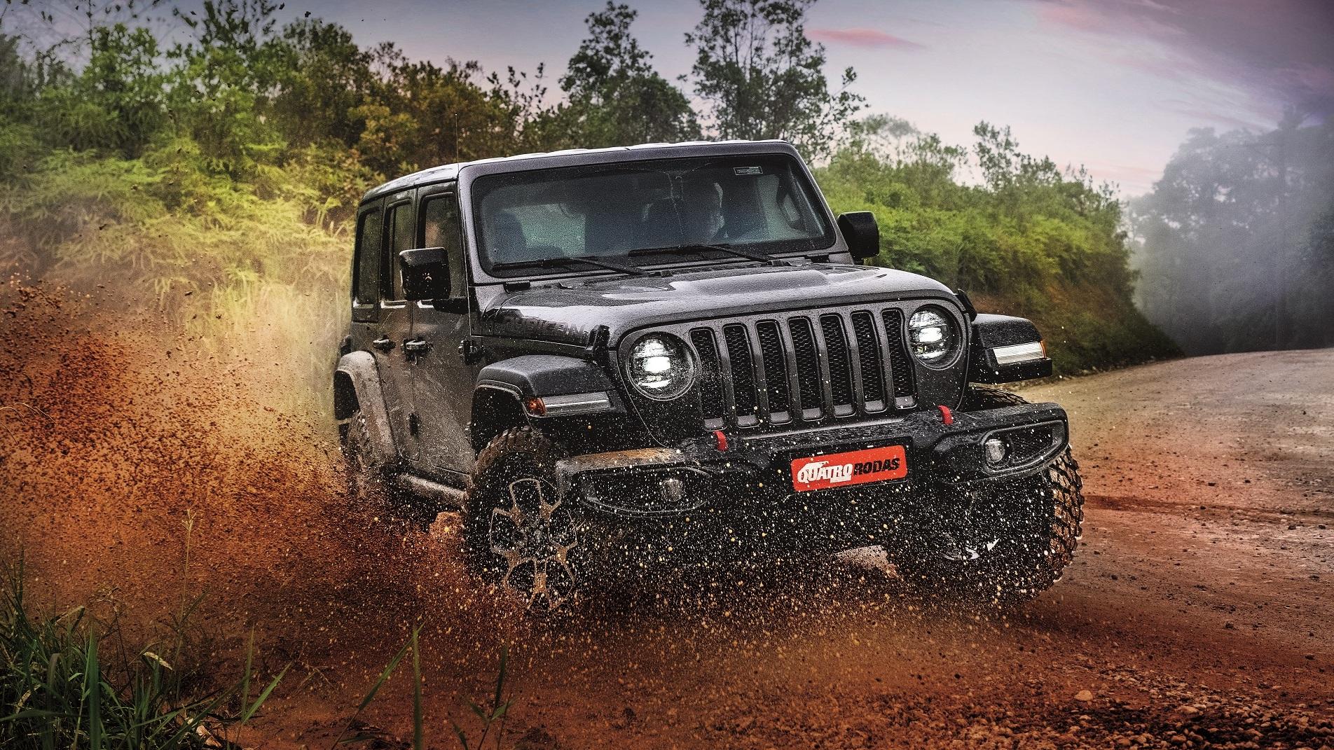 jeep wrangler em teste qr
