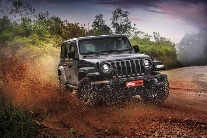 Jeep Wrangler teste Quatro Rodas Janeiro 2021