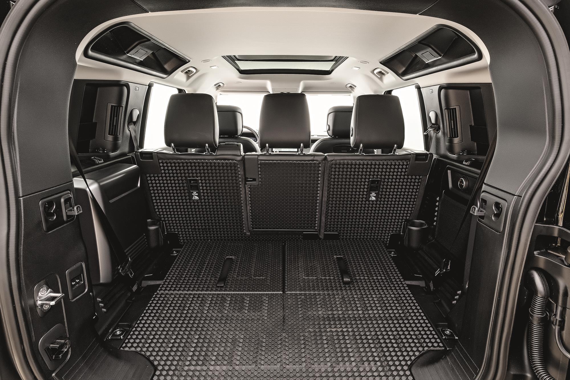 Land Rover Defender HSE 2021 porta malas