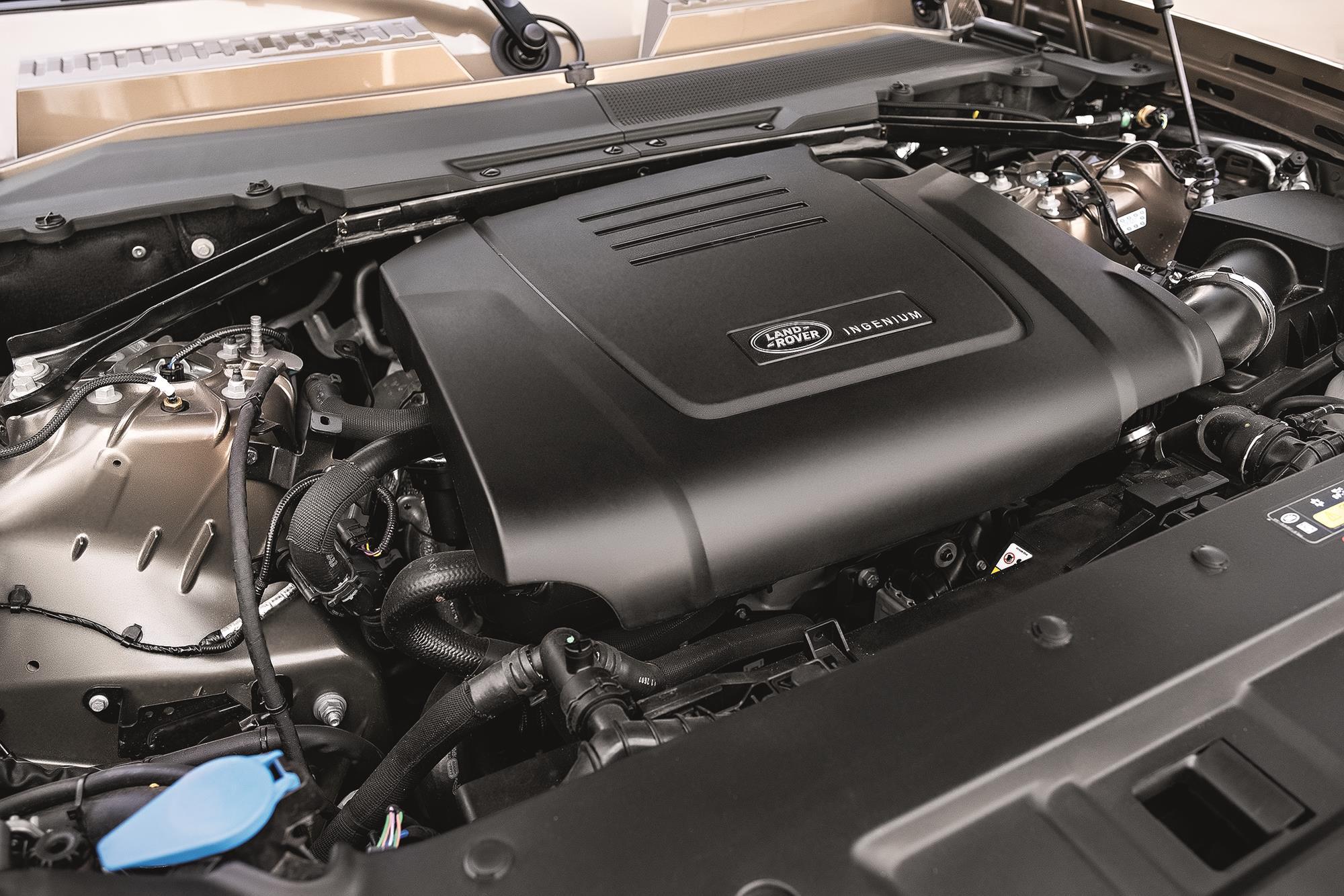 Land Rover Defender HSE 2021 motor 2.0