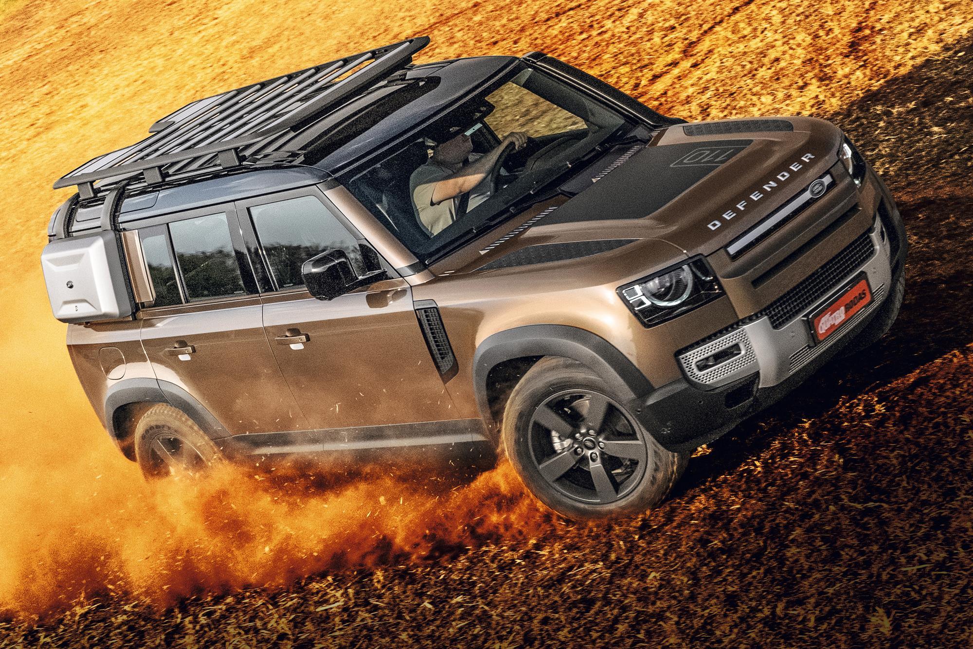 Land Rover Defender HSE frente
