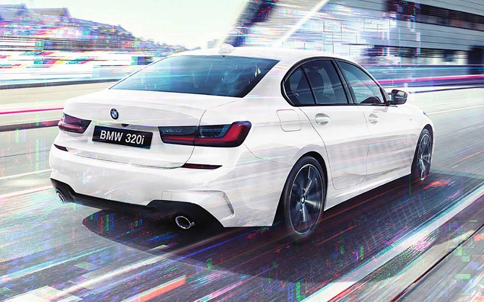 BMW 320i 2021 TRASEIRA