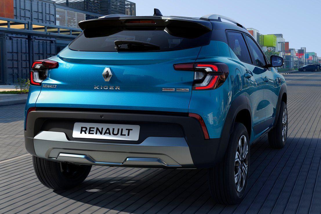 Renault Kiger 2022 para o mercado indiano