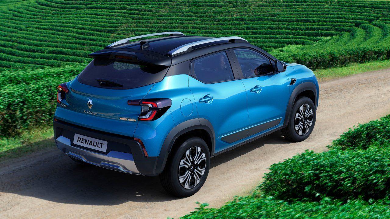 Novo Renault Kiger 2022 fotos de divulgação