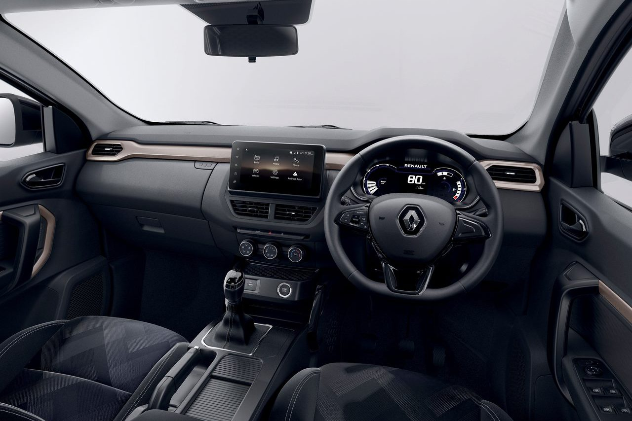 Interior do Renault Kiger indiano