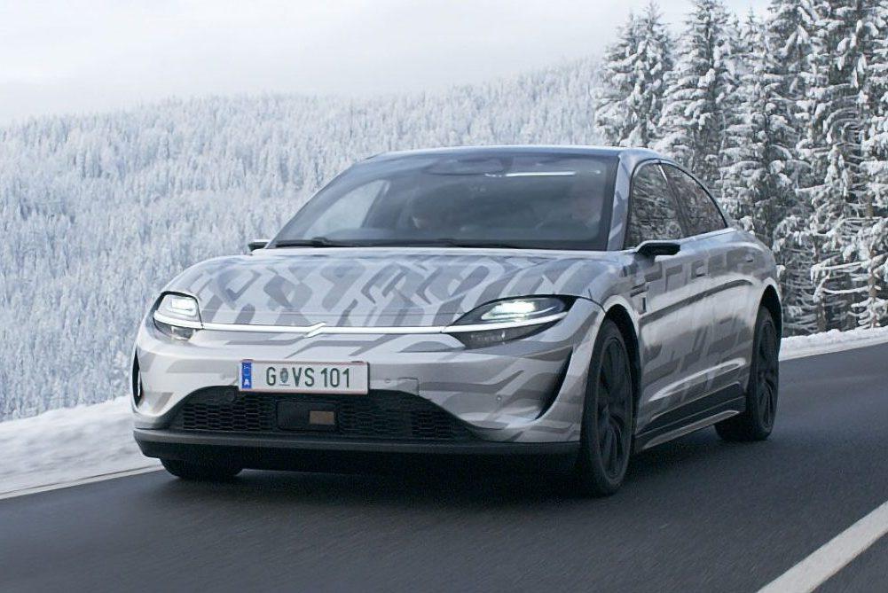 Não se trata de um conceito: O Vision-S já está sendo testado em estradas europeias