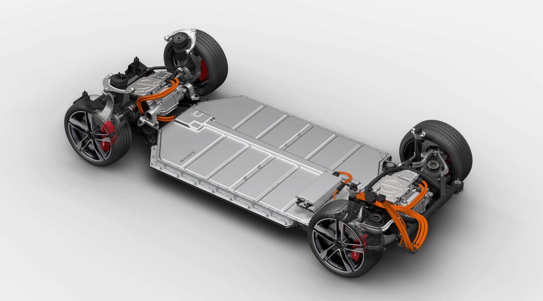 Plataforma da Sony também poderá servir de base a sedãs, SUVs e minivans