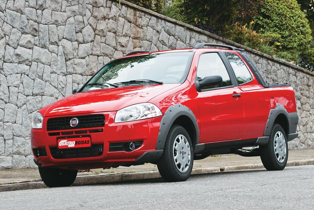 Strada Working 1.4 CD, modelo 2009 da Fiat, testada pela revista Quatro Rodas.