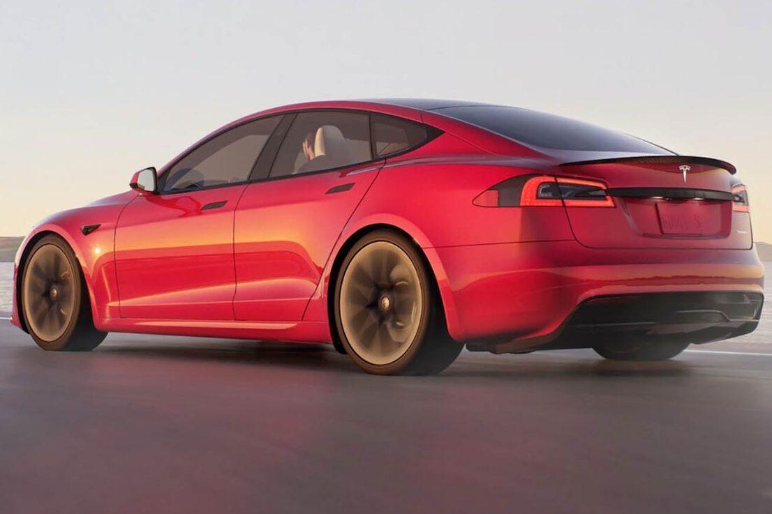 Tesla Model S Traseira