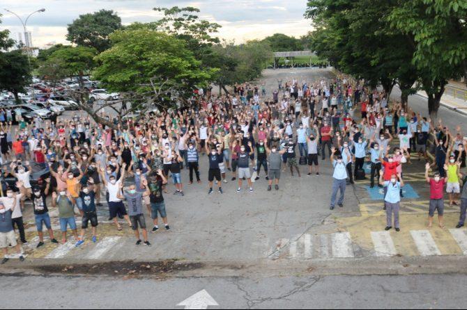 Sindicato dos trabalhadores Ford em Taubaté