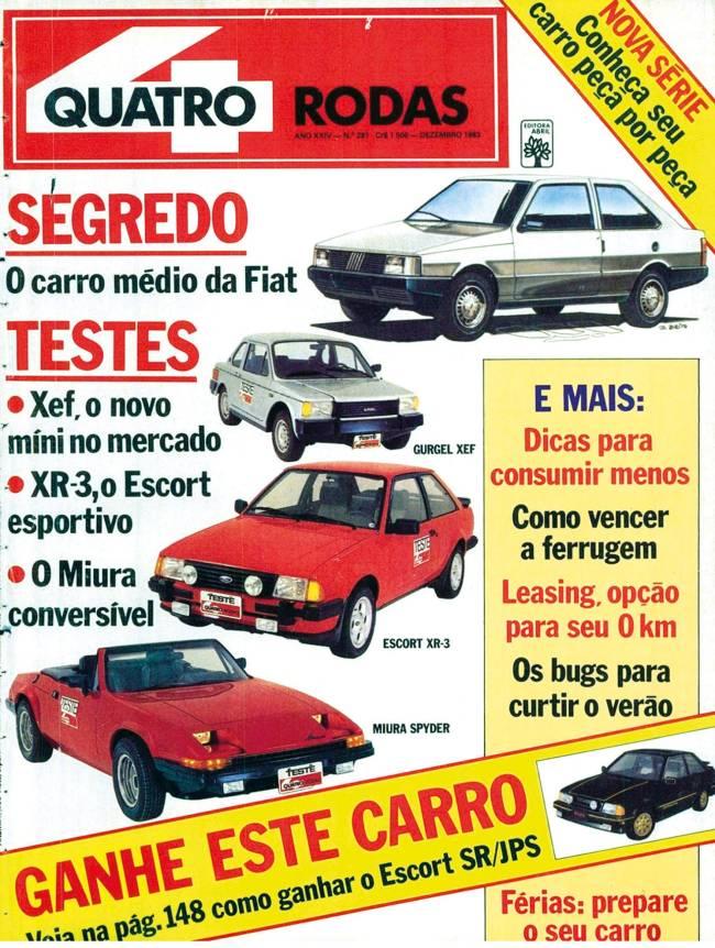 Capa Quatro Rodas 1983