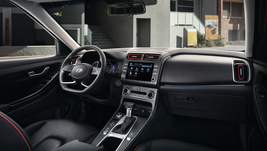 Hyundai Creta 2022 painel