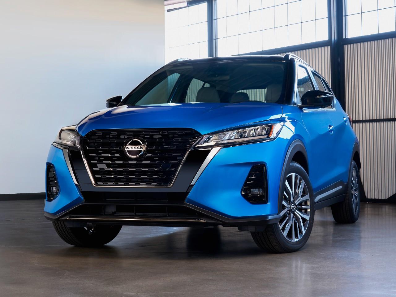 Dianteira do novo Nissan Kicks 2021